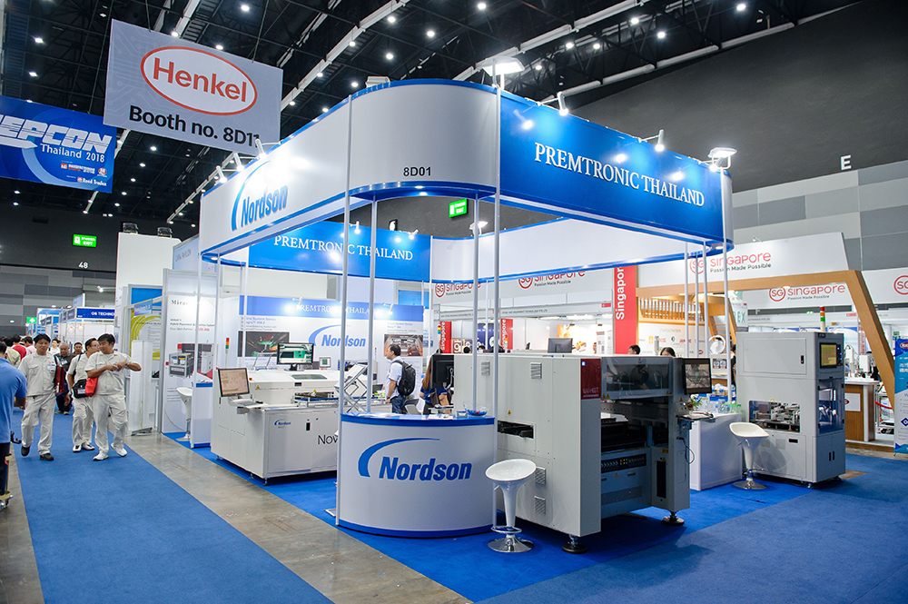 Premtronic Co., Ltd. exhibited at Manufacturing Expo in bangkok 2018